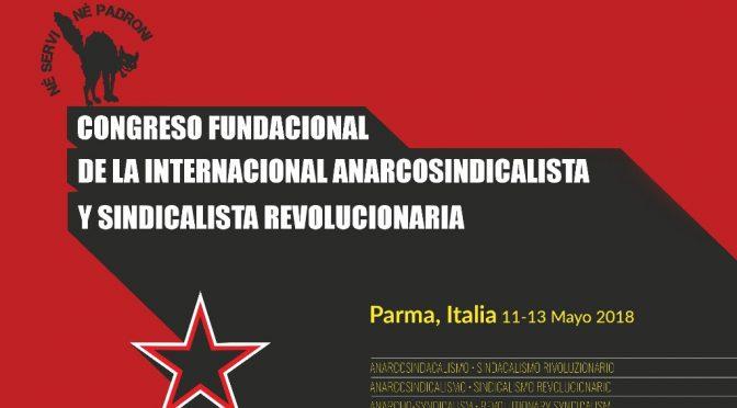 Fundación de la Confederación Internacional del Trabajo (CIT) en Parma