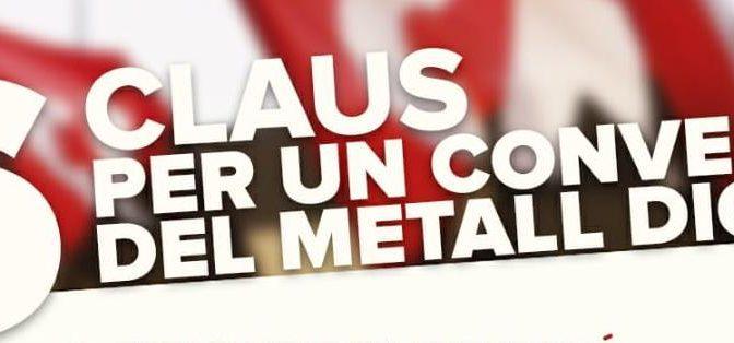 Si el metall és el teu sector, CNT és el teu sindicat!