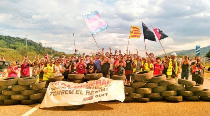 """La CNT catalano-balear davant una possible """"aturada de país""""."""