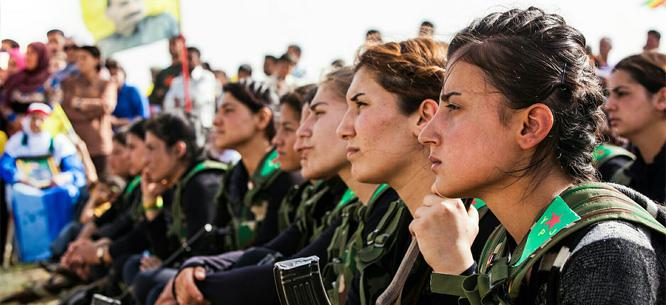 Presentación campaña apoyo Rojava