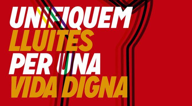 1 Maig a Granollers, unifiquem les lluites per una vida digna