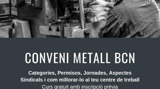 Curs de formació sobre el conveni del metall