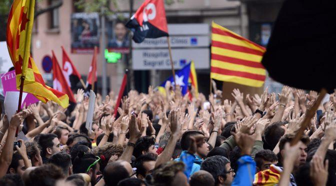 Davant l'actual revolta a Catalunya