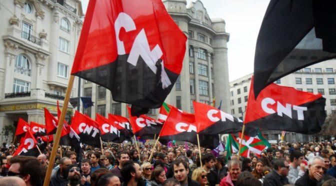 Per unes pensions dignes. La CNT i la vaga del 30 de gener a Euskal Herria