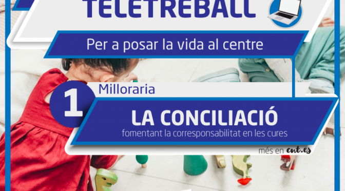 CNT reclama una regulació legal urgent del teletreball