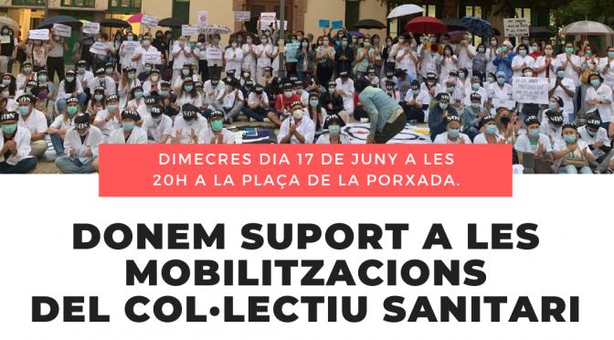 CNT recolza la mobilització del personal de l'Hospital de Granollers aquest dimecres