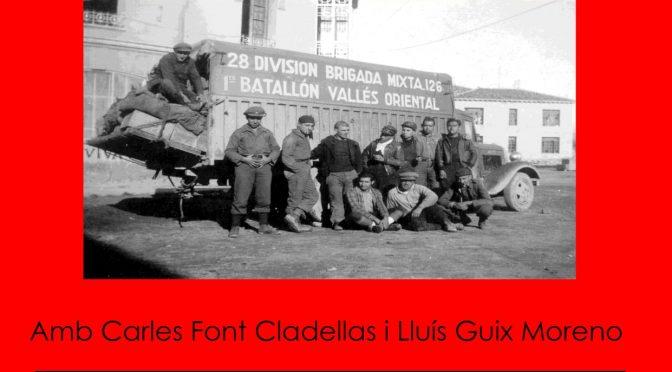 Tertúlia: La revolució de 1936 a Granollers
