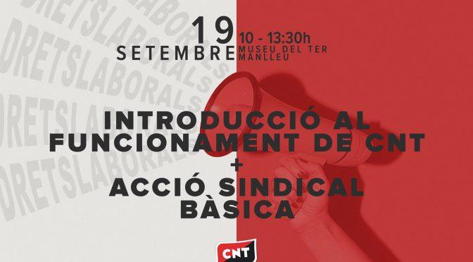 Nova formació sindical el 19 de setembre a Osona