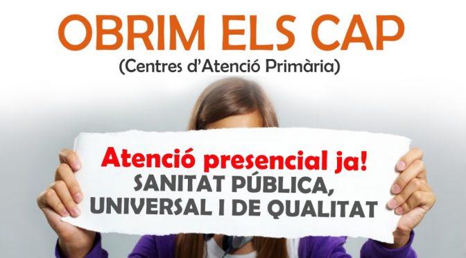 CNT anima a secundar la mobilització de dilluns per exigir una Atenció Primària presencial