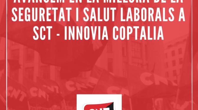 Avancem en la millora de la seguretat i salut laborals a Servei Català de Trànsit – INNOVIA COPTALIA