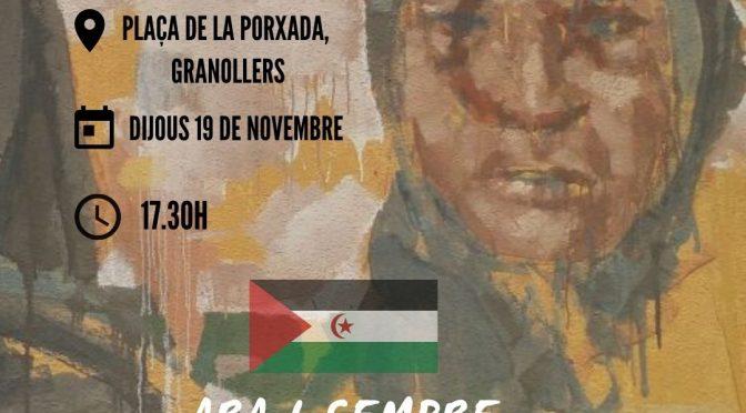 CNT anima a participar de la concentració contra la guerra al Sàhara Occidental