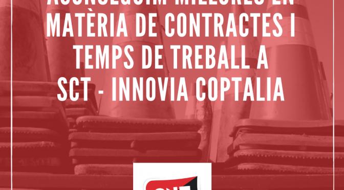 CNT aconsegueix noves millores a SCT – Innovia Coptalia