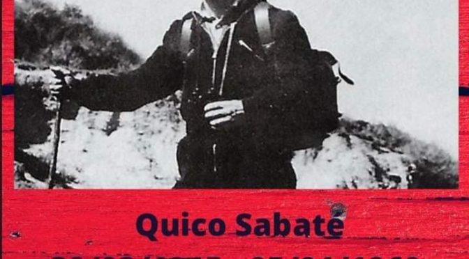 5 de gener a Sant Celoni, en record de Quico Sabaté